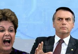 """Dilma chama Bolsonaro de """"psicopata"""" e se coloca em quarentena após viagem"""