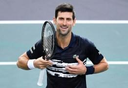 Djokovic fará doação milionária para combate da Covid-19