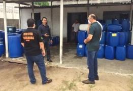 Operação interdita duas fábricas irregulares de álcool e prende proprietário, na Grande João Pessoa