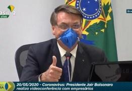 Bolsonaro anuncia videoconferência com governadores para discutir medidas contra pandemia