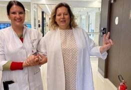 HISTERECTOMIA: Joice Hasselmann é submetida a uma cirurgia para retirada do útero