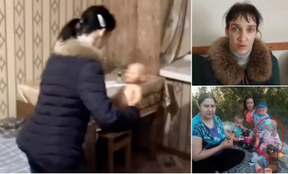 mãe russa - Menina de 2 anos morre ao ser punida pela mãe, que a fez engolir um pedaço de pão