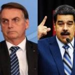 maduro bolsonaro - POR VIOLAÇÃO DE NORMAS: Bolsonaro é o segundo chefe de estado a ter post apagado pelo Twitter