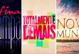 Globo decide reprisar 'Fina Estampa', 'Totalmente Demais' e 'Novo Mundo' no horário nobre