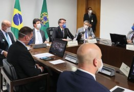 CORONAVÍRUS: Bolsonaro pede apoio de empresários no combate ao novo vírus