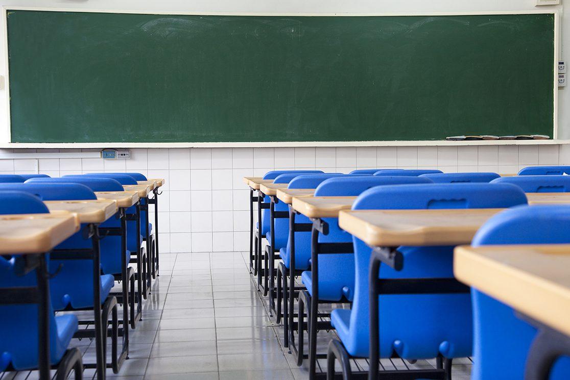 sala de aula vazia e1472558706798 - DATA DEFINIDA: Decreto prevê volta às aulas a partir de 22 de fevereiro em Santa Rita