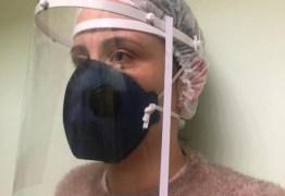 Profissionais da saúde, de Campina Grande, vão receber protetor facial em impressão 3D
