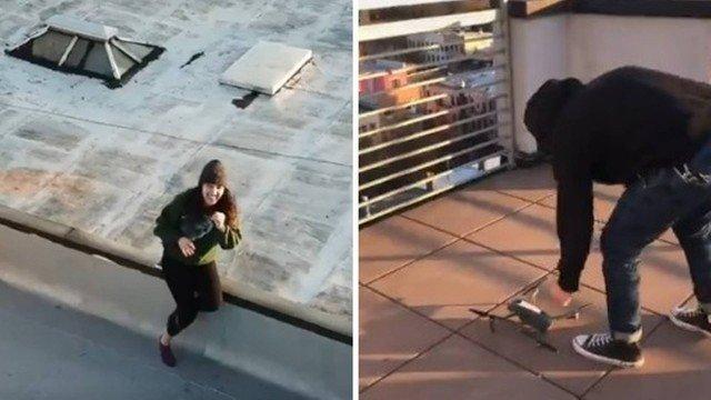 xblog drone ny.jpg.pagespeed.ic .xGcAVsIigo 1 - Homem em quarentena se interessa por vizinha e usa drone para levar número do telefone; VEJA VÍDEO