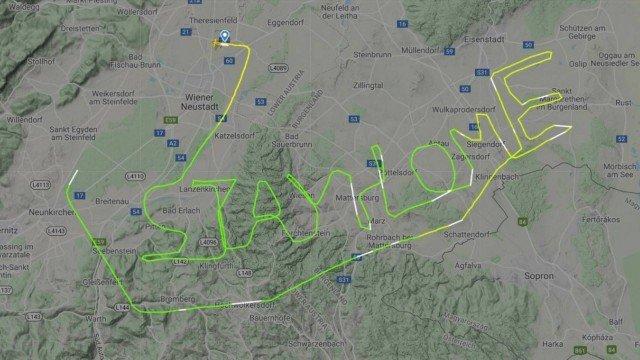 xblog radar.jpg.pagespeed.ic .ptis5yE3xt - Piloto desenha no céu mensagem durante pandemia do coronavírus: 'Fiquem em casa'