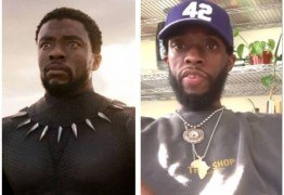 Ator de 'Pantera Negra' deixa fãs preocupados ao aparecer bem mais magro –  VEJA VÍDEO