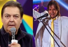 """Mudança no """"Domingão do Faustão"""": Globo exibirá Live de Roberto Carlos"""