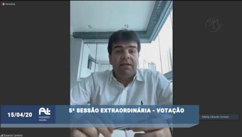 536f8d44 6d56 409b 94e7 6b0d23f4d72c - Eduardo repudia tentativa de interferência do poder público na iniciativa privada