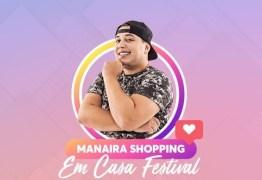 Manaira Shopping terá lives no Instagram com Renata Uchôa, Renan da Resenha, Nara Marques, Kevin Ndjana e Mariah Yohana