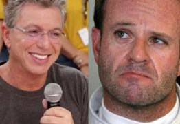 Rubens Barrichello perde a paciência após Boninho fazer piada com ele