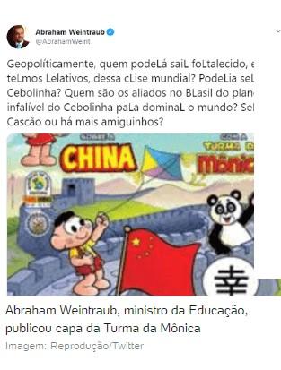 """CHINA 1 - RECADO: """"É melhor respeitar a ciência do que fritar o Mandetta"""", diz Maia a Bolsonaro"""