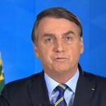 Capturar 45 - Em pronunciamento, Bolsonaro exalta hidroxicloroquinae diz ter certeza que 'grande maioria dos brasileiros quer voltar a trabalhar' - VEJA VÍDEO