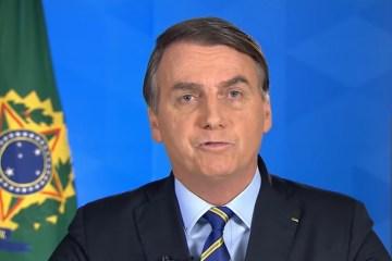 Em pronunciamento, Bolsonaro exalta hidroxicloroquinae diz ter certeza que 'grande maioria dos brasileiros quer voltar a trabalhar' – VEJA VÍDEO