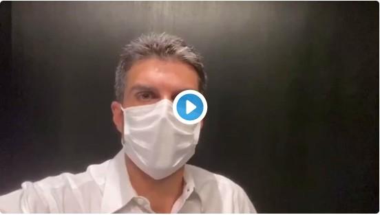 Capturar 68 - Depois de Witzel, governador do Pará revela estar com coronavírus e mostra exame - VEJA VÍDEO