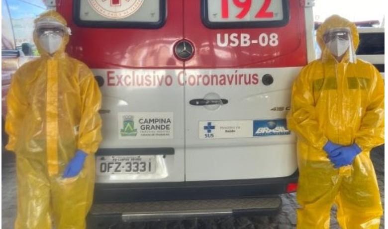 Capturarf 7 - CRM da Paraíba atesta medidas de segurança no SAMU de Campina Grande