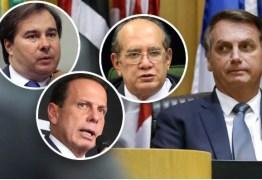"""""""CONSPIRAM CONTRA MIM"""": Bolsonaro acusa Maia, Doria e STF de armar um golpe para derrubá-lo"""