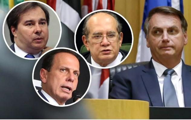 """Capturarg 2 - """"CONSPIRAM CONTRA MIM"""": Bolsonaro acusa Maia, Doria e STF de armar um golpe para derrubá-lo"""