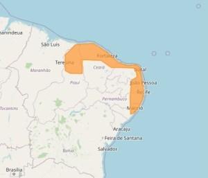 Inmet 6 300x257 - Inmet emite alerta de perigo por chuvas para 98 cidades da PB