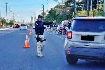 PRF na Paraíba reforça o policiamento durante o feriado prolongado