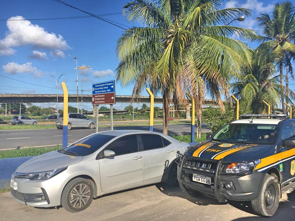 WhatsApp Image 2020 04 08 at 16.34.35 - Foragido da justiça é preso pela PRF em Recife com carro roubado em João Pessoa