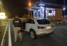 PRF na Paraíba recupera veículo de luxo roubado em Recife