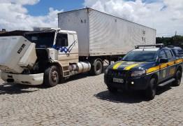 PRF na Paraíba recupera caminhão roubado há 17 anos