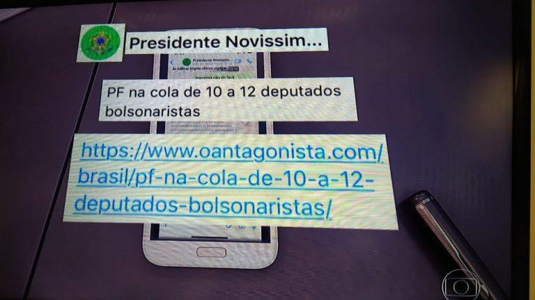WhatsApp Image 2020 04 24 at 21.15.33 768x432 1 - Jornal Nacional exibe troca de mensagens entre Moro e Bolsonaro onde presidente cobra mudança no comando da PF