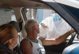 Prefeitura de Bayeux faz barreira sanitária para prevenção do coronavírus e distribui máscaras