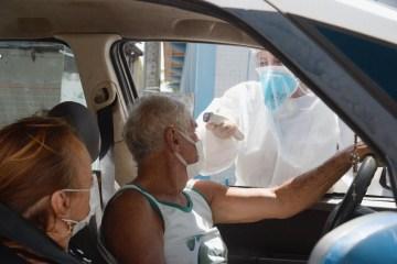 WhatsApp Image 2020 04 27 at 08.39.07 - Prefeitura de Bayeux faz barreira sanitária para prevenção do coronavírus e distribui máscaras