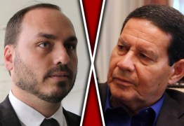 """""""ASSOMBRAÇÃO"""": Carluxo vê Mourão como candidato ao trono"""