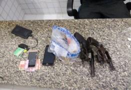 Polícia Militar prende líder de facção criminosa de Catolé do Rocha e apreende armas e munição