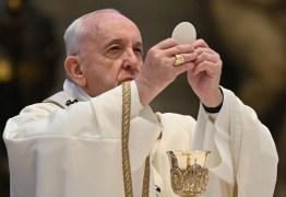 Papa Francisco pede união para enfrentar pandemia e diz que 'não é tempo para egoísmos'