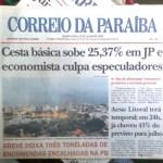 correio da paraiba 1 - FIM DE UMA ERA: Após 66 anos, Jornal Correio da Paraíba publica última edição neste sábado (4)