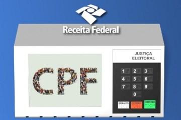 cpf eleitoral - CORONAVOUCHER: Receita Federal vai regularizar CPF com pendência eleitoral
