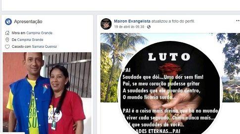 """cropped 4 57 - """"TENHO RECEBIDO NÃO"""": Filho culpa gestão de Romero Rodrigues pela morte de seu pai"""