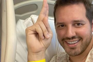 dony de nuccio - Dony De Nuccio passa por cirurgia emergencial após sentir fortes dores