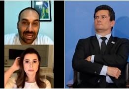 """Eduardo Bolsonaro exige que Sergio Moro """"defenda explicitamente"""" seu pai – VEJA VÍDEO"""