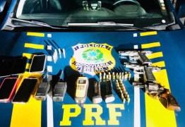 Presos suspeitos de roubar carga e fazer caminhoneiros reféns; VEJA VÍDEO