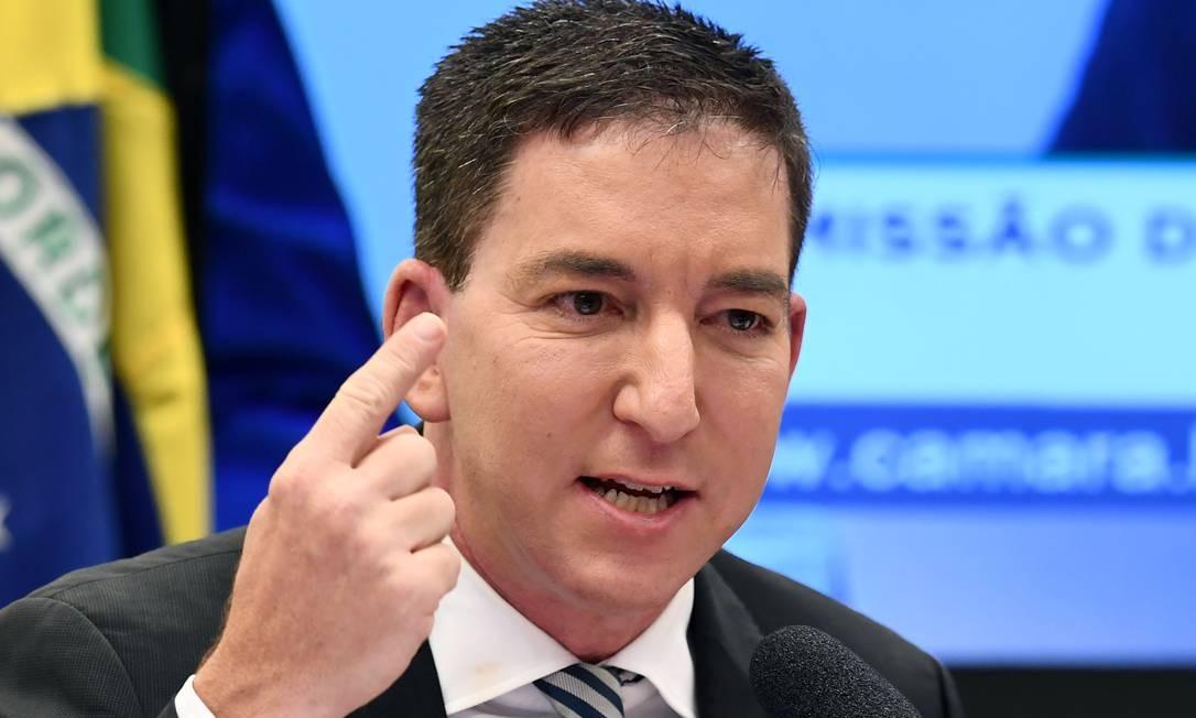 glenn greenwald - Globo não chama de supostas mensagens nem pede perícia no celular de Moro, diz Glenn Greenwald