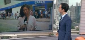 globo link sp1 ao vivo mariana aldano cesar tralli 300x141 - DE NOVO! Equipe da Rede Globo é hostilizada durante reportagem ao vivo em SP - VEJA VÍDEO