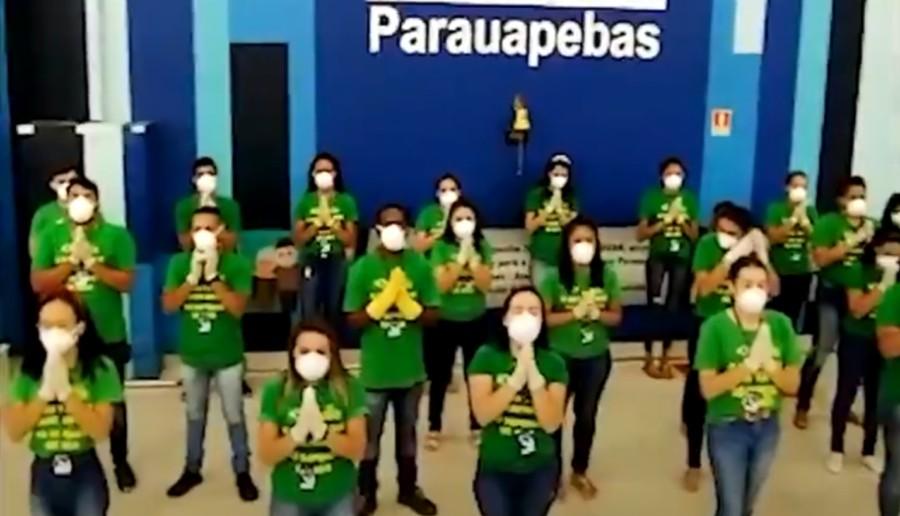Dono da Havan publica vídeo com funcionários orando e agradecendo reabertura de loja
