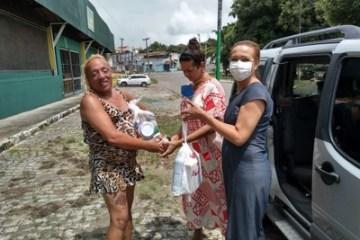 Covid-19: mais de 2.300 famílias começam a receber cestas básicas e kits de higiene em João Pessoa e região metropolitana