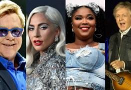 Lady Gaga, Paul McCartney e outros grandes artistas organizam 'a maior live do planeta'