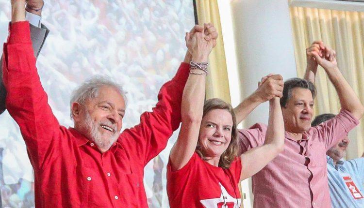 lula gleisi haddad - Na véspera das eleições, Lula e Gleisi pedem que eleitorado vote nos candidatos do PT; VEJA VÍDEO