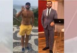 Apresentador da GloboNews é escrachado por bolsonarista ao ser flagrado caminhando na praia – VEJA VÍDEO