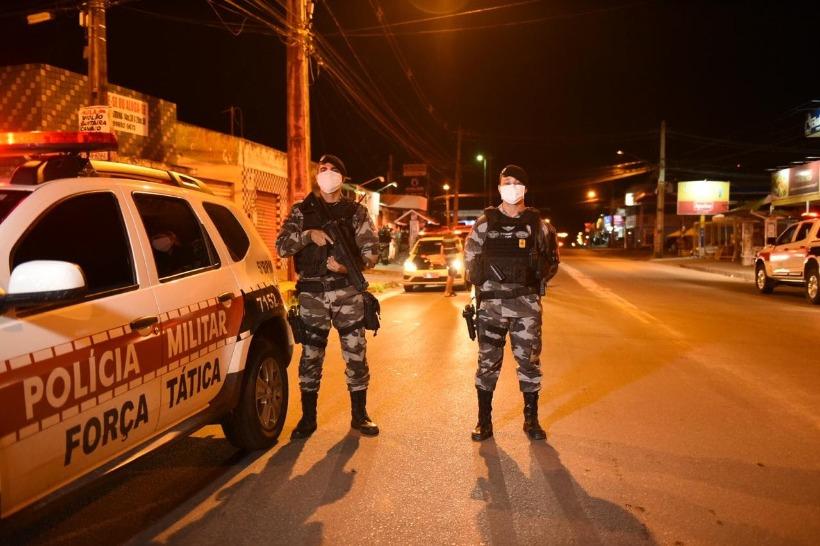 polícia militar isolamento social - Polícia apreende armas de fogo artesanais e investiga fábrica clandestina em JP